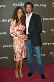 Pink,Brooke Burke,David Charvet Royalty Free Stock Photo