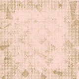 Pink and Brown Background or Wallpaper. Pink background with brown grunge patterns scattered over it for gift wrap, backgrounds or wallpaper Stock Photography