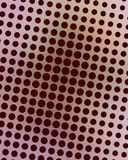 Pink and Brown Dots Royalty Free Stock Photo