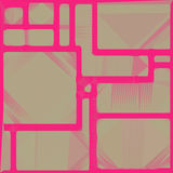 Pink brown triangle square geometric shapes background Royalty Free Stock Photo