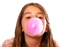Pink Bubble-Gum Stock Photos