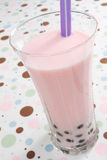 Pink Bubble Tea Stock Photography