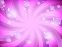 Pink bubbles Royalty Free Stock Images