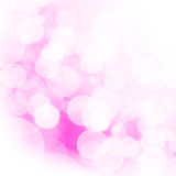 Pink bubbles. Backdrop in the form of a plenty bubbles and light stock images