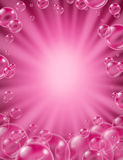 Pink Bubbles Concept Royalty Free Stock Image