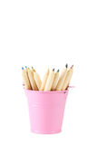 Pink bucket Stock Images
