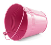 Pink bucket Stock Image
