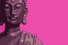 PINK Buddha Stock Image