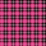 Pink Buffalo Plaid Seamless Pattern stock illustration