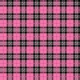 Pink Buffalo Plaid Seamless Pattern royalty free illustration