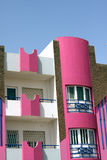 Pink building Royalty Free Stock Images