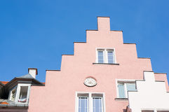 Pink building Stock Image