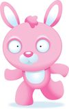 Pink Bunny Stock Image