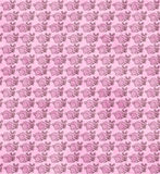Pink Bunny Fabric Background Royalty Free Stock Image