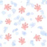 Pink bunny scrapbook Royalty Free Stock Photos