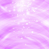 Pink Burst Blurred Background. Sparkling Texture. Star Flash. Glitter Particles Pattern. Starry Explosion Royalty Free Stock Photography