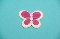 Pink butterfly Stock Photography