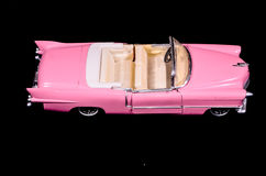 Pink Caddilac Car Toy Model Stock Photos