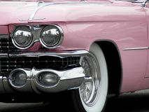 Pink Cadillac Stock Photo