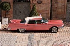 Pink Cadillac Royalty Free Stock Photos