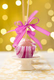 Pink cake pops Royalty Free Stock Photography