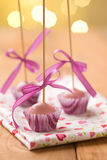 Pink cake pops Royalty Free Stock Photo