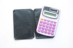 Pink calculator Royalty Free Stock Images