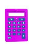 Pink calculator Royalty Free Stock Photo