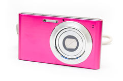Pink camera Royalty Free Stock Photos