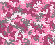 Pink Camouflage Stock Photography