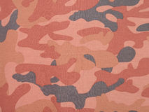 Pink camouflage textile background Stock Photography