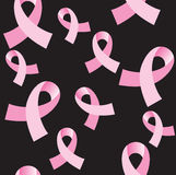 Pink Cancer Ribbon Seamless Background Royalty Free Stock Photography
