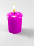 Pink candle Royalty Free Stock Photo