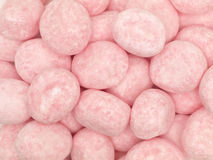 Pink Candy Bonbons. Close-up of pink candy bobbons stock image