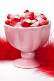 Pink Candy Corn Stock Photos
