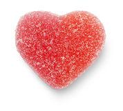 Pink Candy Heart Royalty Free Stock Photos