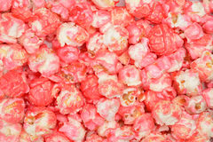 Pink candy popcorn Royalty Free Stock Photo
