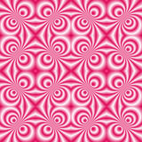 Pink candy swirl 1 Stock Image