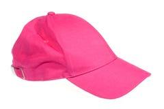 Pink cap stock photo
