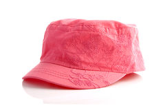 Pink cap Stock Photography