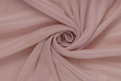 Pink caprone material, as textured background Royalty Free Stock Photo