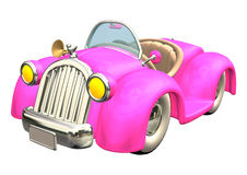 Pink Car Stock Photos