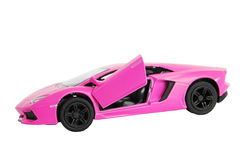 Pink  car Royalty Free Stock Photos