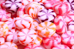 Pink caramel candies Stock Photography
