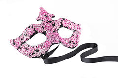 Pink Carnival Mask Royalty Free Stock Images