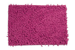 Pink carpet or doormat. For cleaning feet Stock Photography