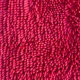 Pink carpet softness texture of doormat Stock Images