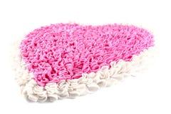 Pink carpet on white background Stock Image