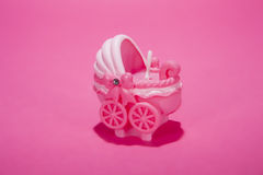 Pink Carriage Royalty Free Stock Photography