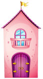 A pink castle Royalty Free Stock Photo